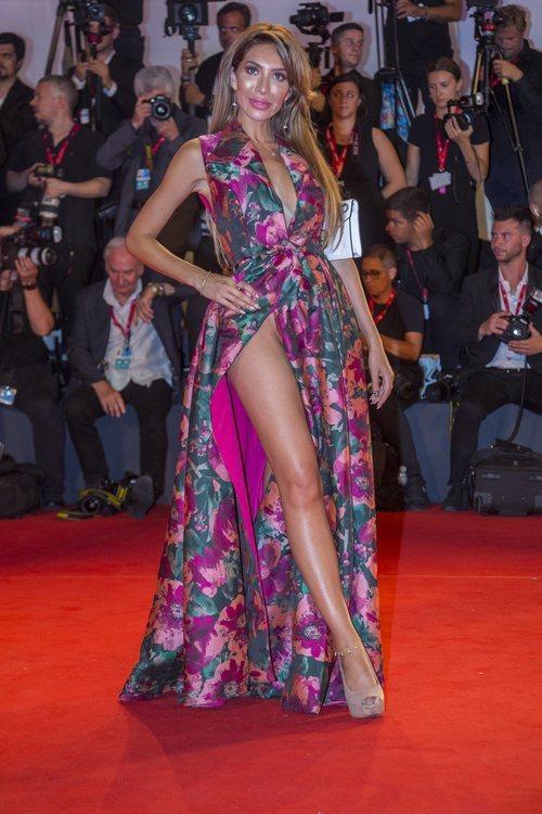 Farrah Abraham, estrella de MTV en el Festival de Venecia