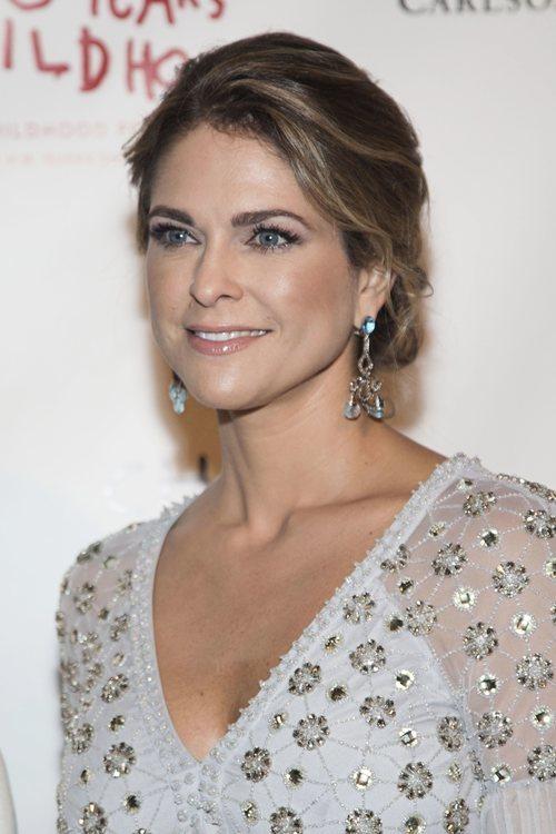 La Princesa Magdalena de Suecia con un beauty muy natural en la Childhoods Thank You Gala