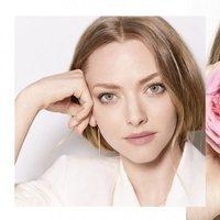 Amanda Seyfried con look natural como embajadora Lancôme