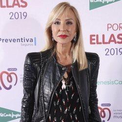 Carmen Lomana en el concierto 'Por ellas' de Cadena 100