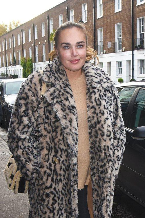 Tamara Ecclestone con un look muy natural en Londres