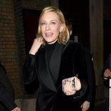 Cate Blanchett sin peinarse en Londres