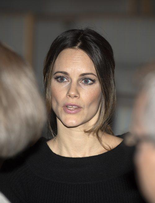 La Princesa Sofia de Suecia desentona con su sombra de ojos