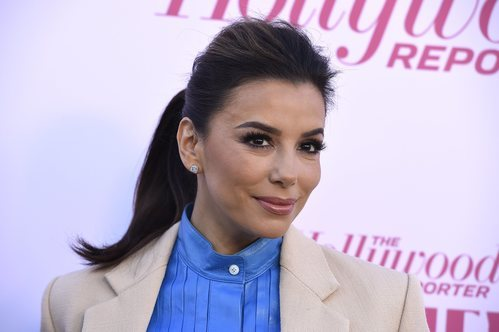 Eva Longoria con smokey eye y gloss en la Women Entertainment Gala 2019