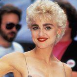 Madonna antes de hacerse múltiples retoques en la cara