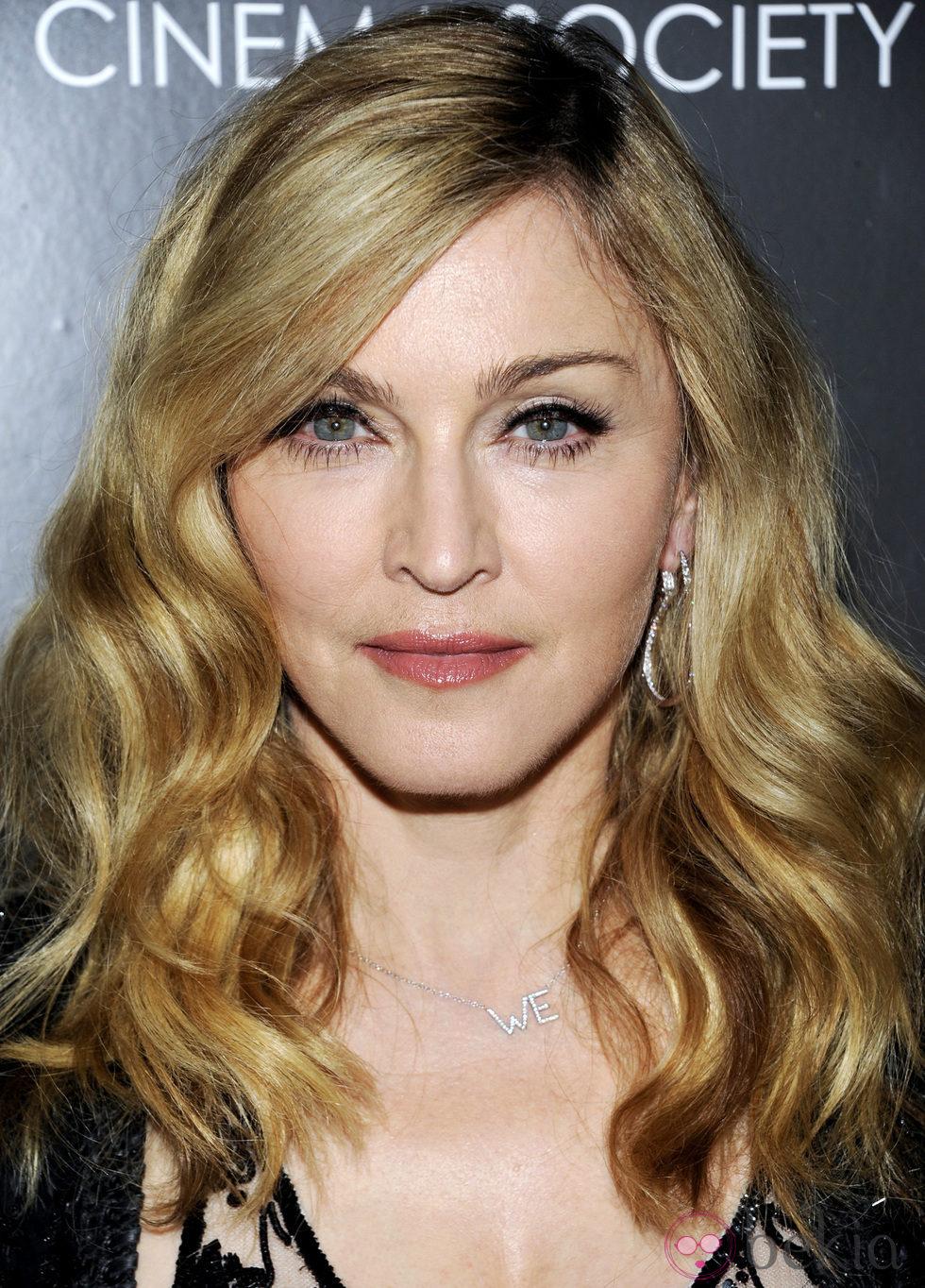 Madonna después de hacerse múltiples retoques en la cara