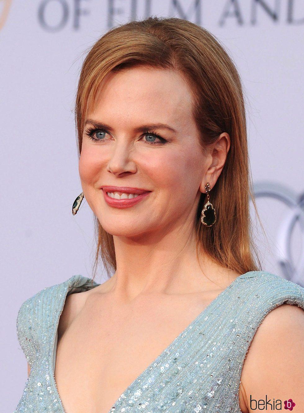 Nicole Kidman después de abusar del botox en su rostro