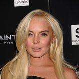 Lindsay Lohan después de operarse los labios