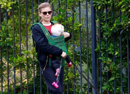 La coleta descuidada de Kate Mara