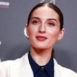 María Valverde apuesta por la sombra dorada para la fiesta de los nominados a los Goya 2020