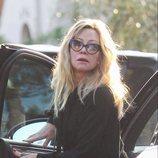 Melanie Griffith sin peinar en Los Ángeles