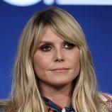 Heidi Klum falla en la elección del beauty look