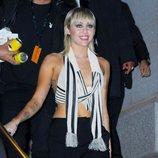 Miley Cyrus acude al desfile de Marc Jacobs en Nueva York