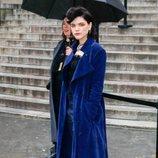 Stéphanie Sokolinsk acude al desfile de Chloé 2020 en París