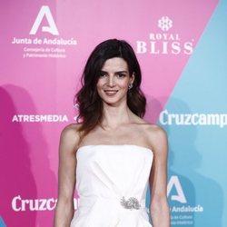 Clara Lago con una melena con ondas en la presentación del Festival de Málaga 2020