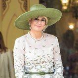 El smokey eyes de la Reina Máxima de Holanda en Tailandia
