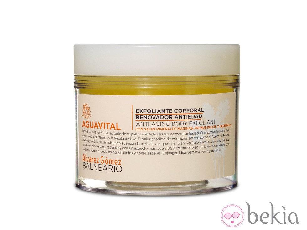 Crema exfoliante corporal 'Aguavital'