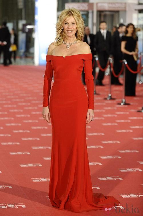 Belén Rueda con un look informal en los Premios Goya 2012