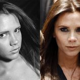 El antes y el después de Victoria beckham