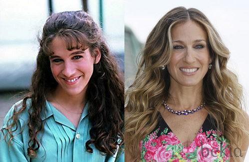 El antes y el después de Sarah Jessica Parker