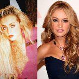 El antes y después de Paulina Rubio