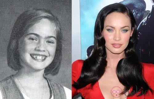 El antes y el despúes de Megan Fox