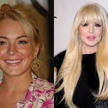 El antes y el después de Lindsay Lohan