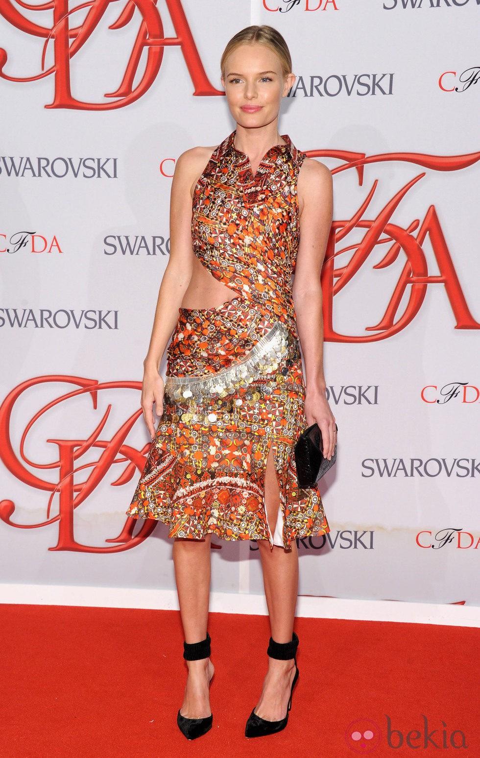 El look natural de Kate Bosworth en los Premios CFDA 2012