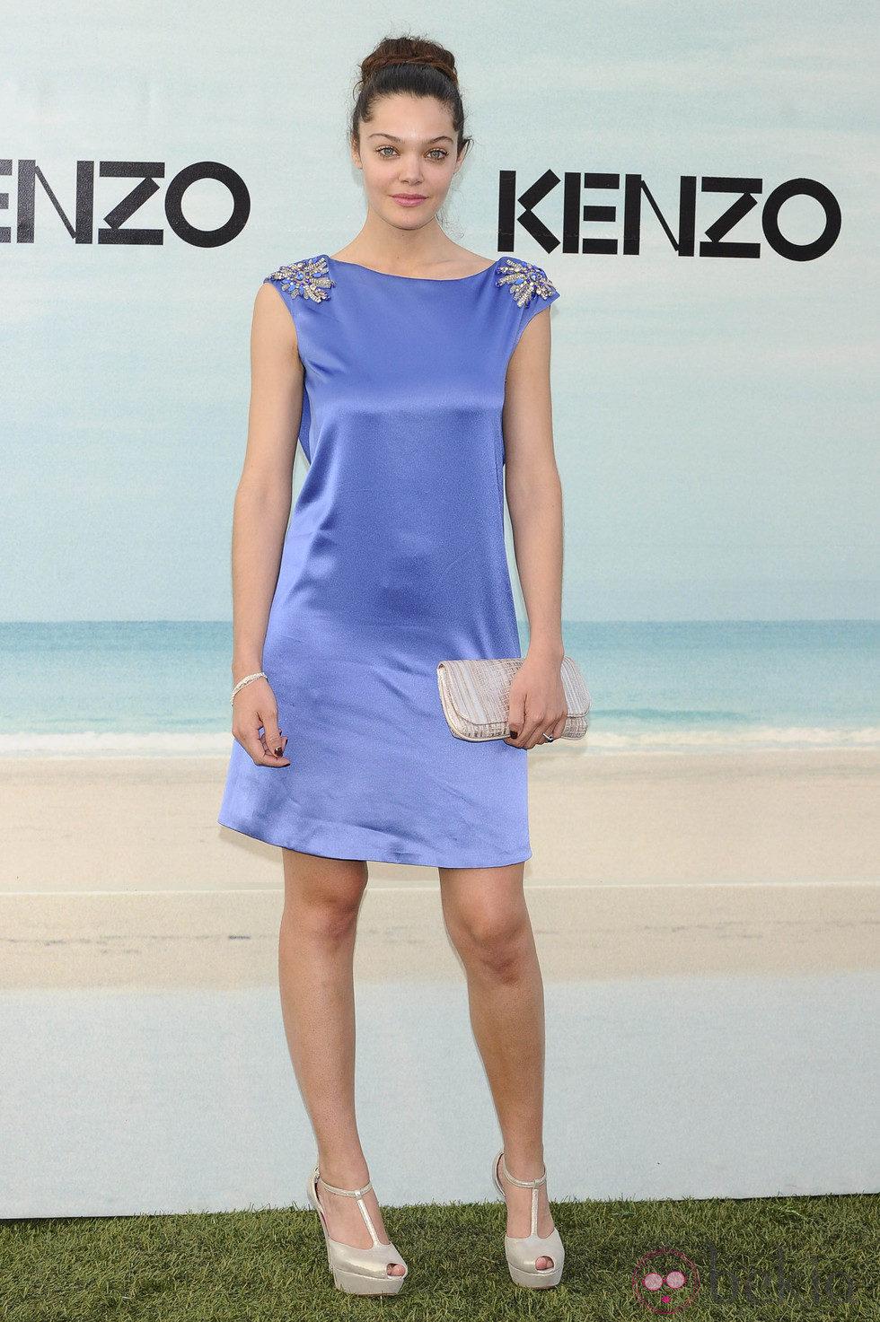 Ana Rujas con recogido informal en la Kenzo Summer Party 2012