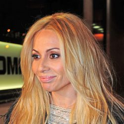 Marta Sánchez después de retocarse los labios mediante cirugía estética