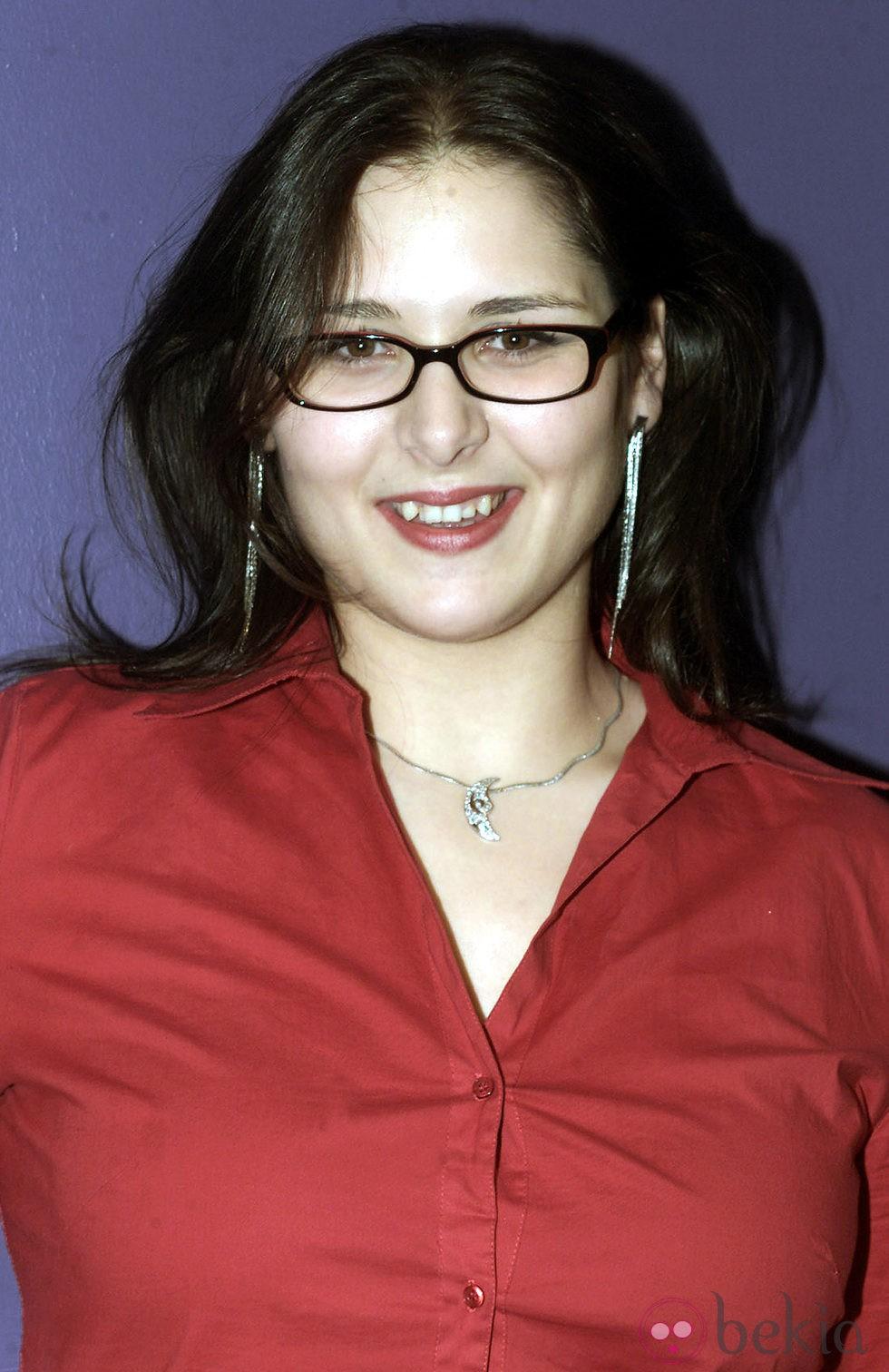 Rosa López antes de ponerse brackets