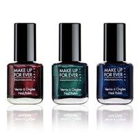 Esmaltes de uñas de la colección Black Tango de Make Up For Ever