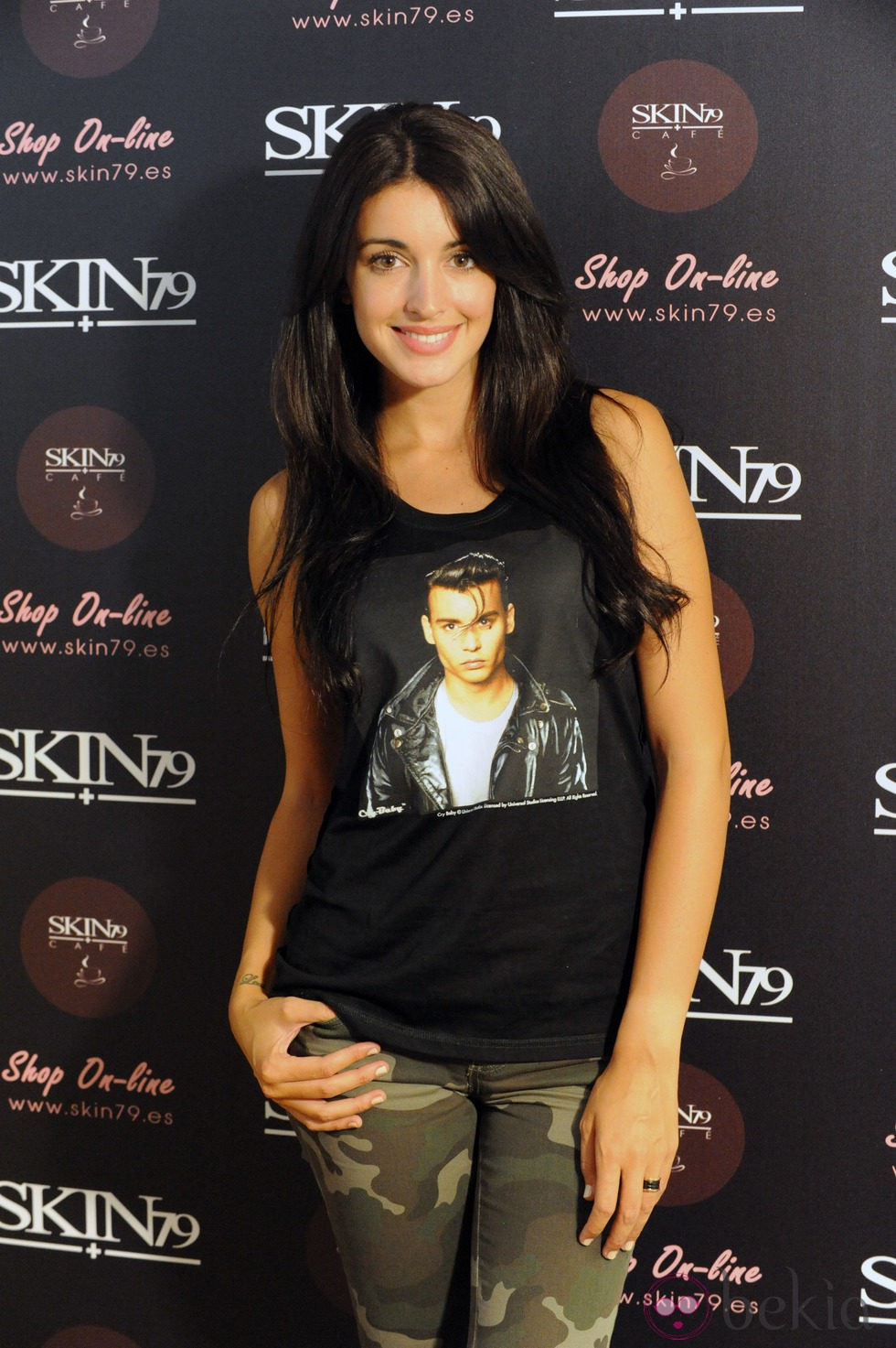 Noelia López en la presentación de la BB Cream de Skin79
