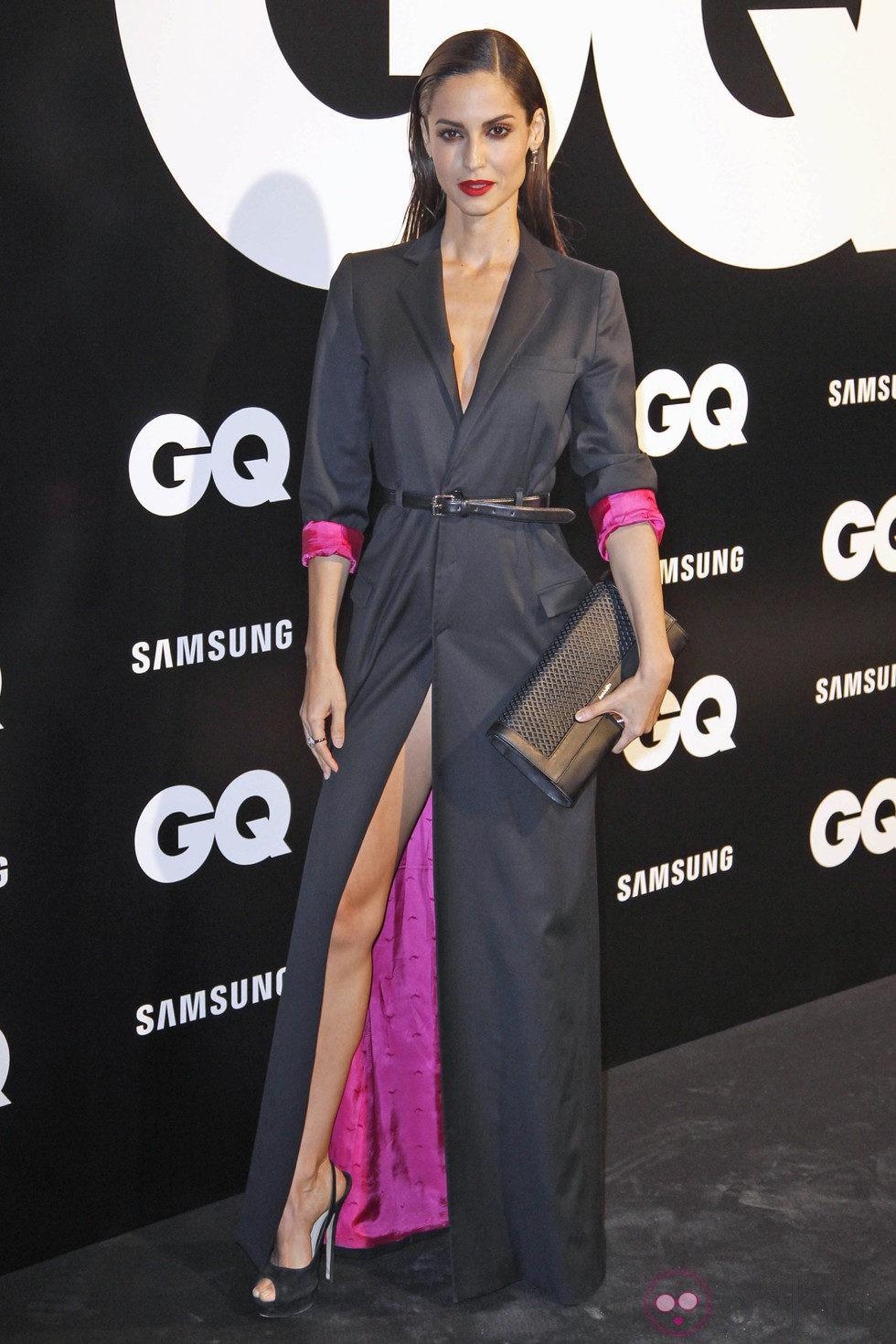 Ariadne Artiles se apunta al 'efecto wet' en los Premios GQ Hombres del Año 2012