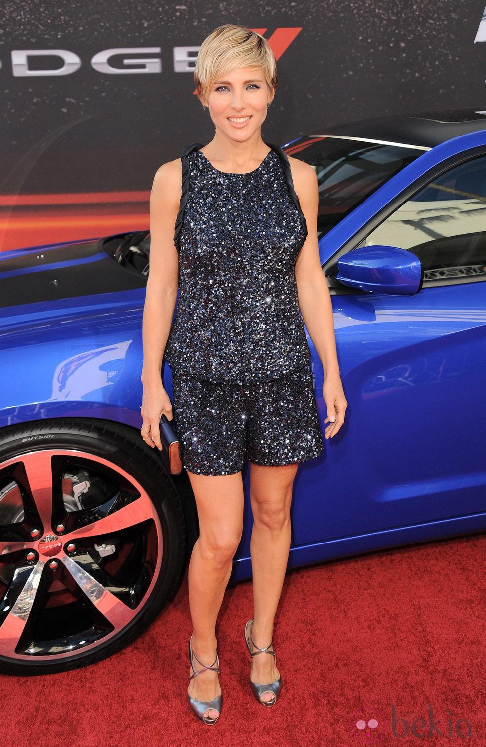 Look de Elsa Pataki en el estreno de 'Fast & furious 6' en Los Ángeles