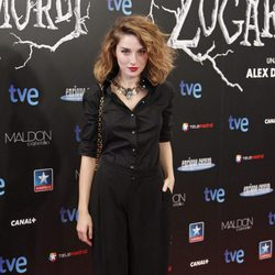 María Valverde, con un look despeinado en el estreno de 'Las brujas de Zugarramurdi' en Madrid