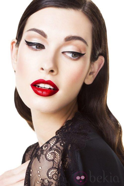 Look eyeliner de la colección otoño/invierno 2013 de Yamamay Beauty