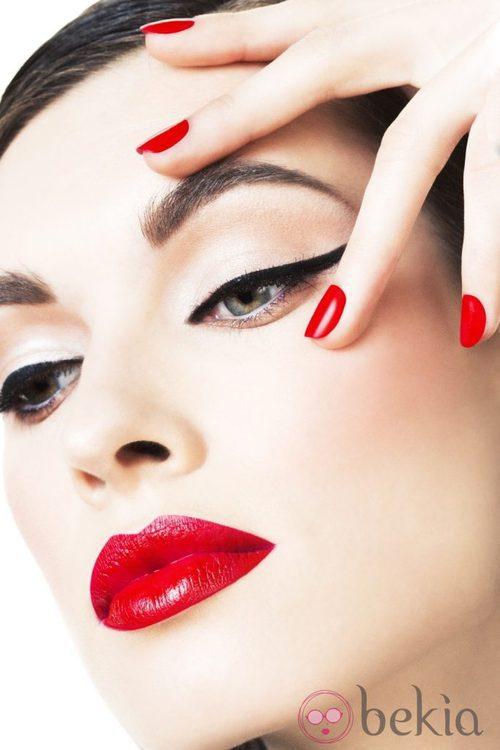 Maquillaje de la colección otoño/invierno 2013 de Yamamay Beauty
