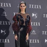 Ariadne Artiles con un peinado 'efecto wet' en los Premios Telva 2013