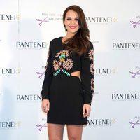 Paula Echevarría en la presentación de la campaña de Pantene 'Más vale prevenir que cortar'