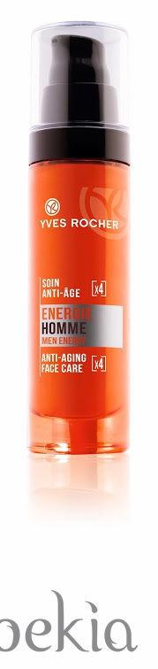 Tratamiento anti-edad y antiarrugas de la línea 'Energie Homme' de Yves Rocher