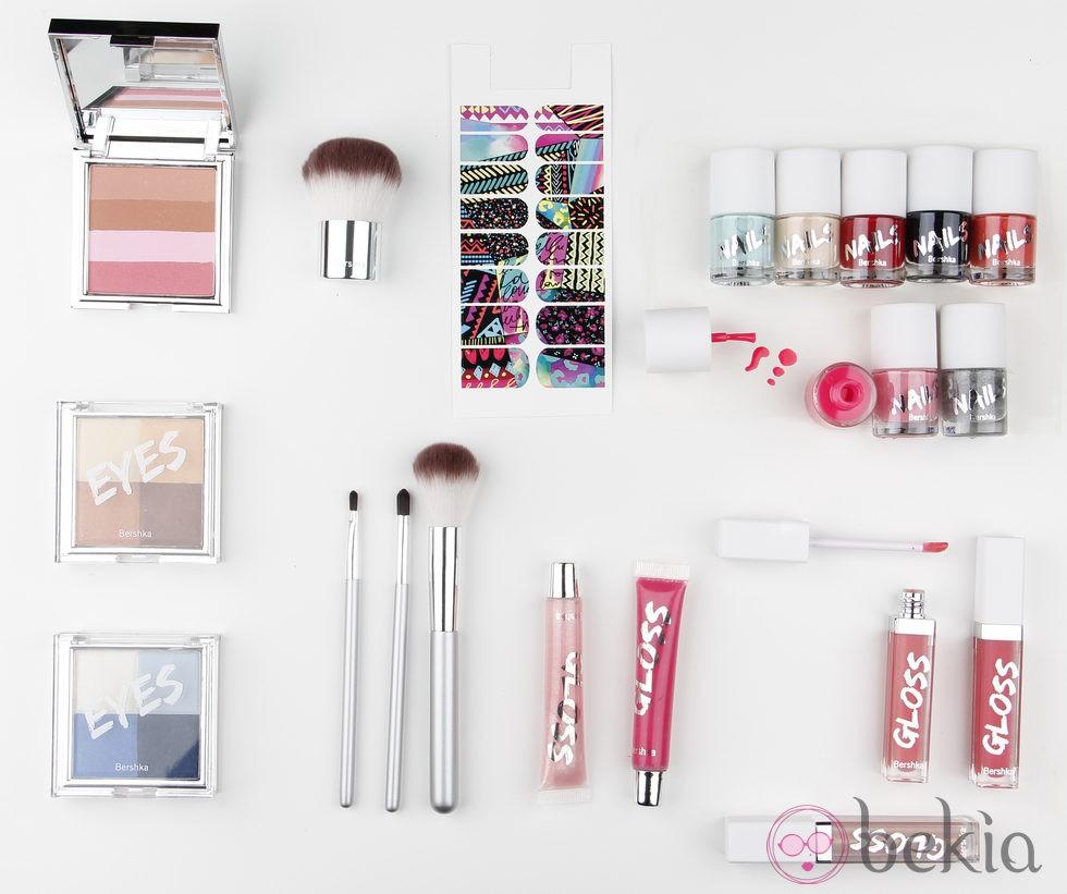 Colección completa de cosméticos de Bershka de 2014
