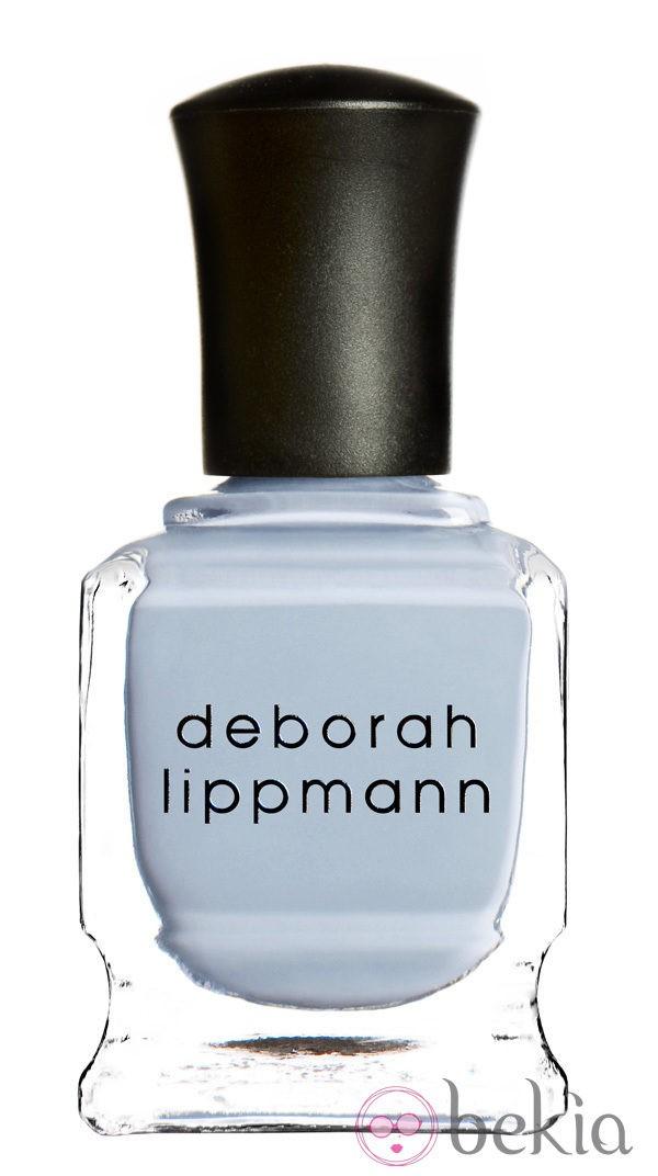 Esmalte azul bebé de la colección primavera/verano 2014 de Deborah Lippmann