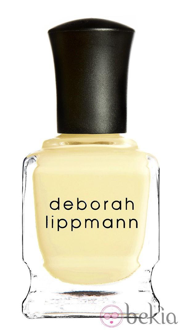Esmalte amarillo pastel de la colección primavera/verano 2014 de Deborah Lippmann