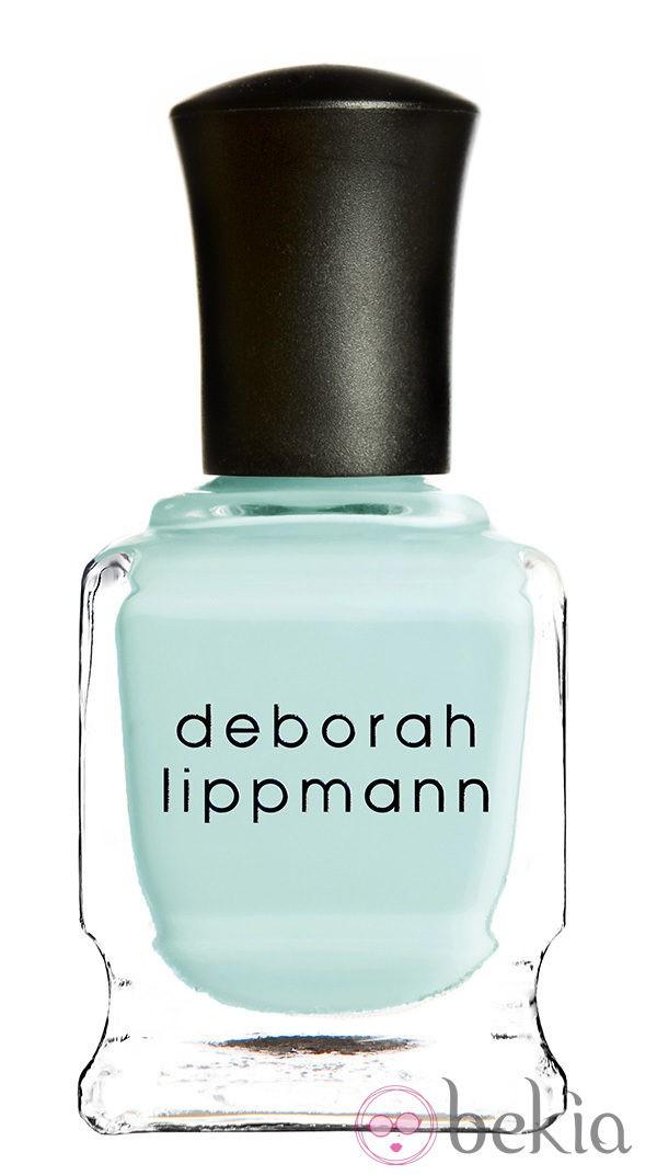 Esmalte verde menta de la colección primavera/verano 2014 de Deborah Lippmann