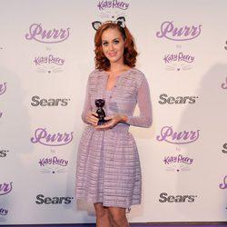Katy Perry con la melena pelirroja