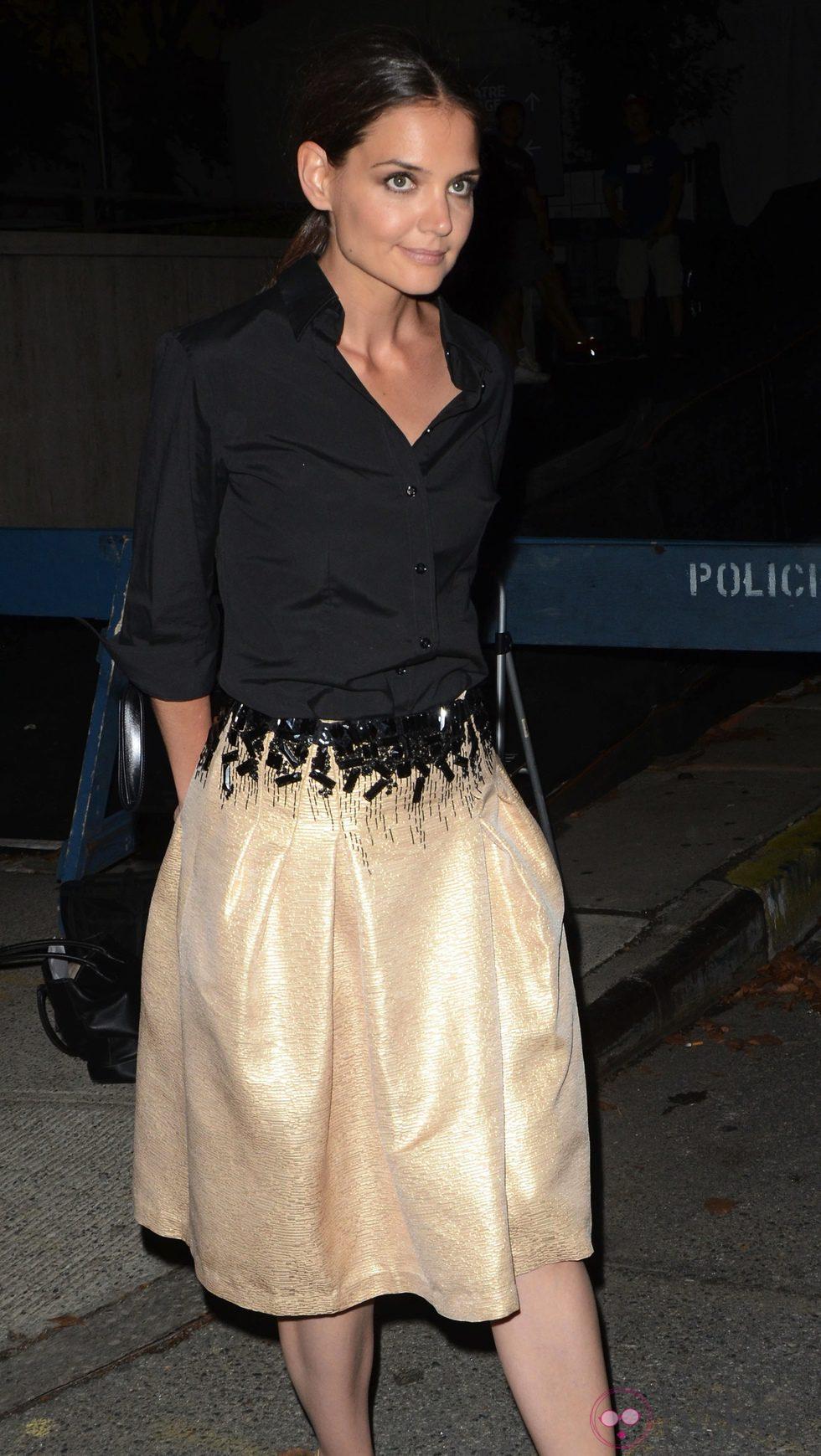 El look de pelo de Katie Holmes tras su divorcio