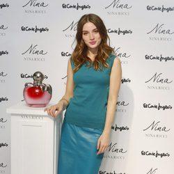 María Valverde promociona las fragancias de Nina Ricci