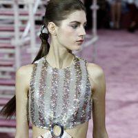 Las coletas partidas en dos del desfile de Alta Costura de Dior en París