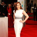 Amy Adams con la melena ultralisa en los BAFTA 2015